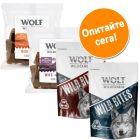 Wolf of Wilderness Wild Bites с смесени опаковки