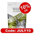 "Wolf of Wilderness Wild Bites Dog Snacks ""Green Fields"" - Lamb"