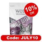 """Wolf of Wilderness Wild Bites Dog Snacks """"Wild Hills"""" - Duck"""