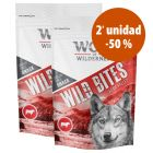 Wolf of Wilderness Wild Bites 2 paquetes ¡en oferta!