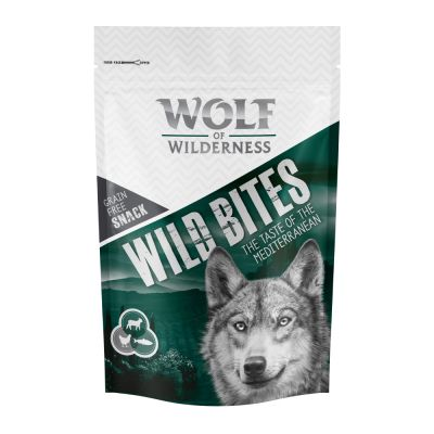 Wolf of Wilderness Wild Bites 2 paquetes ¡en oferta!
