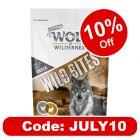 """Wolf of Wilderness Wild Bites Senior """"Meadow Grounds"""" Rabbit & Chicken"""