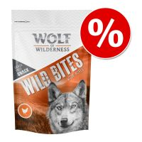 Wolf of Wilderness - Wild Bites, 3 x 180 g w super cenie!