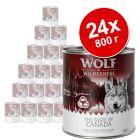 Икономична опаковка: Wolf of Wilderness 24 x 800 г