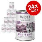 Икономична опаковка: Wolf of Wilderness 24 x 400 г