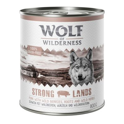 Wolf of Wilderness 6 x 800 g