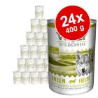Wolf of Wilderness 24 x 400 g - Pack económico