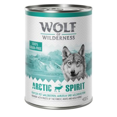Wolf of Wilderness 12 x 400 g - Pack económico