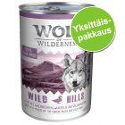 Wolf of Wilderness -yksittäispakkaus 1 x 400 g