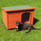 Woody Flat-Roofed Dog Kennel