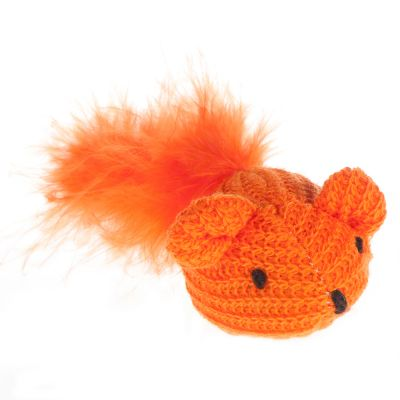 Woolly Mouse Cat Toy