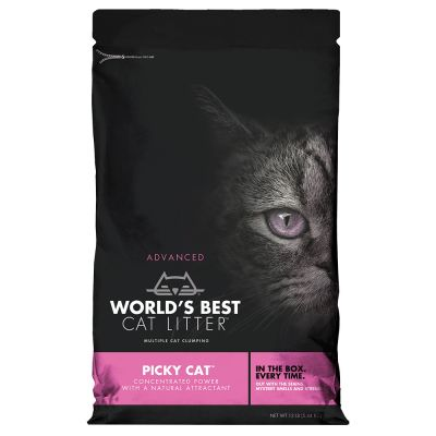 World's Best Cat Litter Picky Cat arena vegetal aglomerante