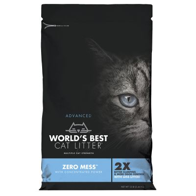 World's Best Cat Litter Zero Mess arena vegetal aglomerante