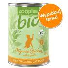 Wypróbuj! zooplus Bio, kurczak z marchwią, 1 x 400 g w super cenie!