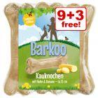 12 x Barkoo Chew Bones Summer Edition - 9 + 3 Free!*