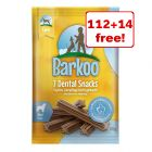 126 x Barkoo Dental Snacks  - 112 + 14 Free!*