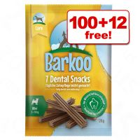 112 x Barkoo Dental Snacks  - 100 + 12 Free!*