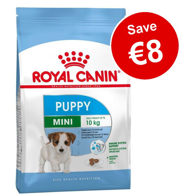 2 x Big Bags Royal Canin Dry Puppy Food - €8 Off!*