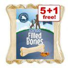 6 x 12cm Barkoo Filled Chew Bones – 5 + 1 Free!*