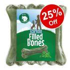 6 x 12cm Barkoo Filled Chew Bones - 25% Off!*
