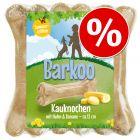 3 x 12cm Chicken & Banana Barkoo Chew Bones - Special Price!*