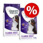 2 x Concept for Life Crocchette per cani