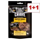 2 x Crave Protein -koiranherkku: 1 + 1 kaupan päälle!