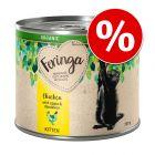 10% намаление! 6 x 200 г Feringa Organic Kitten био храна за котки на специална цена!