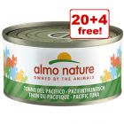 24 x 70g Almo Nature Wet Cat Food - 20 + 4 Free!*