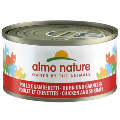 24 x 70g Almo Nature Wet Cat Food - 19 + 5 Free!*