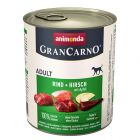 12 x 800 g Animonda GranCarno Original Adult
