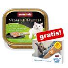6 x 100 g Animonda vom Feinsten Adult + 4 x 15 g Milkies Snack gratis!
