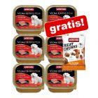 6 x 150 g Animonda Vom Feinsten + 30 g Meat Chunks krůtí zdarma!