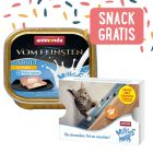 32 x 100 g Animonda vom Feinsten + 4 x 15 g Milkies Snack gratis!