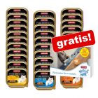 32 x 100 g Animonda vom Feinsten + 4 x 15 g Milkies Snacks gratis!