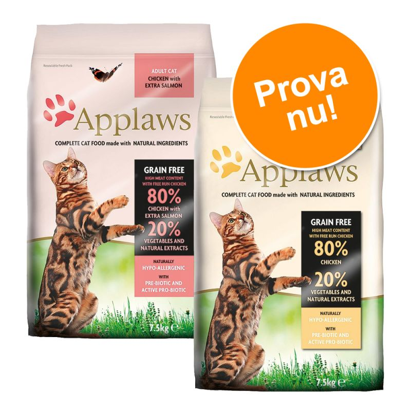 2 x 400 g Applaws i blandat provpack