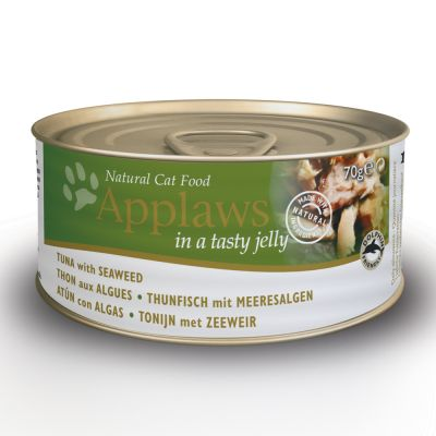 24 x 70g Applaws Wet Cat Food + 8 x 7g Chicken Puree Free!*