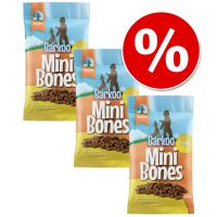3 x 200g Barkoo Mini Bones Dog Snacks - Special Price!*