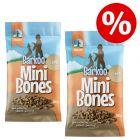 2 x 200 g Barkoo Mini Bones (semi-humide) Friandises pour chien