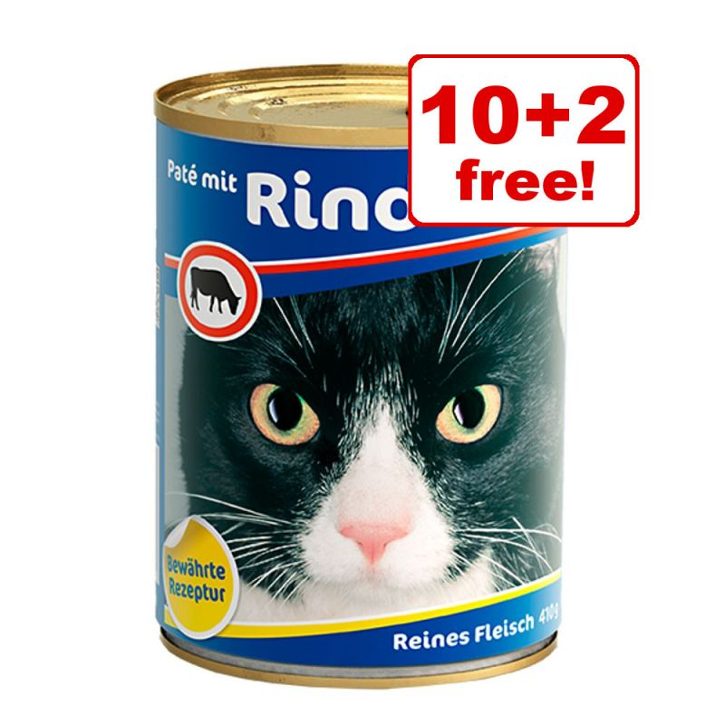 12 x 410g Bozita Wet Cat Food - 10 + 2 Free!*