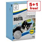 6 x 190g Bozita Wet Cat Food Tetra Pak - 5 + 1 Free!*