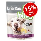 3 x 150g Briantos FitBites Pouches Dog Treats - 15% Off!*