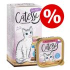 72 x 100g Catessy Fine Pâté Tray Wet Cat Food - Special Price!*