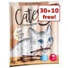 40 x 5g Catessy Sticks Cat Snacks - 30 + 10 Free!*