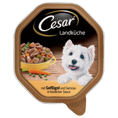 56 x 150g Cesar Classic Trays - 46 + 10 Free!*