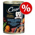 6  x 400 g Cesar Natural Goodness za skvelú cenu!