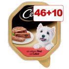 56 x 150 g Cesar-rasiat koiranruoka: 46 + 10 kaupan päälle!