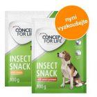 2 x 100 g Concept for Life Insect Snack ve zkušebním balení!