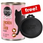 12 x 400g Cosma Asia Wet Cat Food + Can Cover Free!*