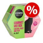 14 x 85g Cosma Gourmet Box Mixed Pack Wet Cat Food - Special Price!*